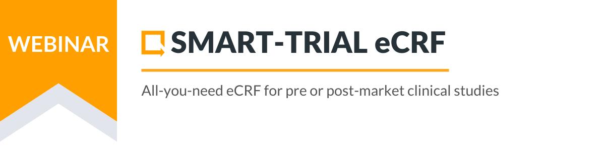Landing Page Top - eCRF Webinar