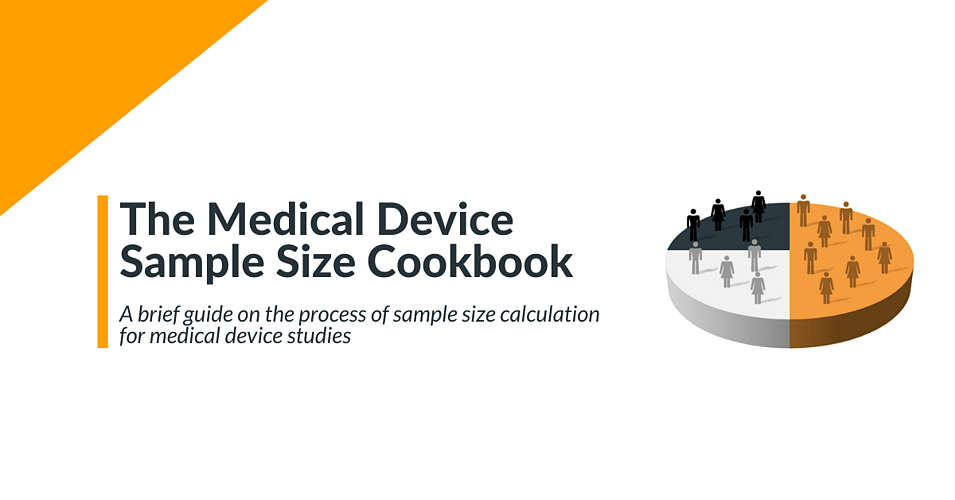 The medical device sample size cookbook